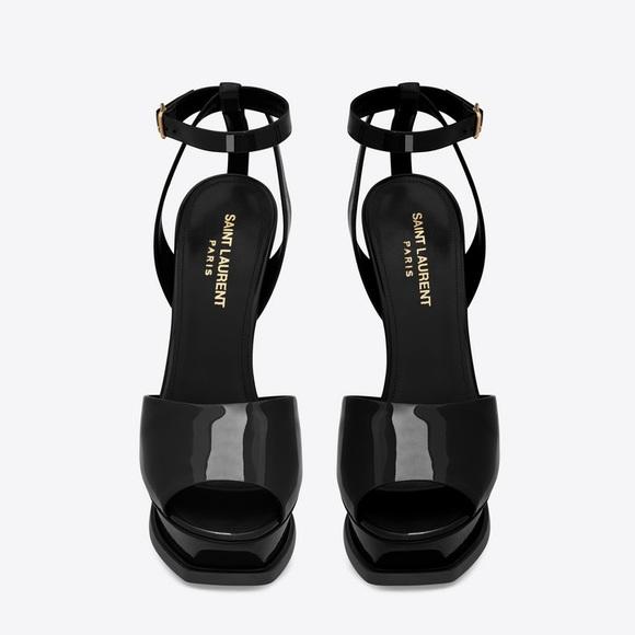 70a7d097ee83 Saint Laurent Platform Sandals